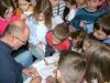 Pisatelj Peter Svetina obiskal bralne značkarje - 4. 4. 2018