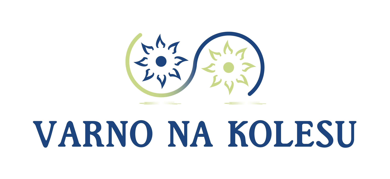 Logotip akcije Varno na kolesu